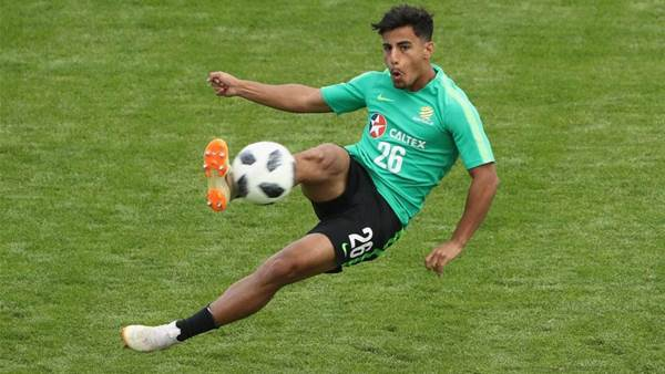 Celtic in line for Arzani loan