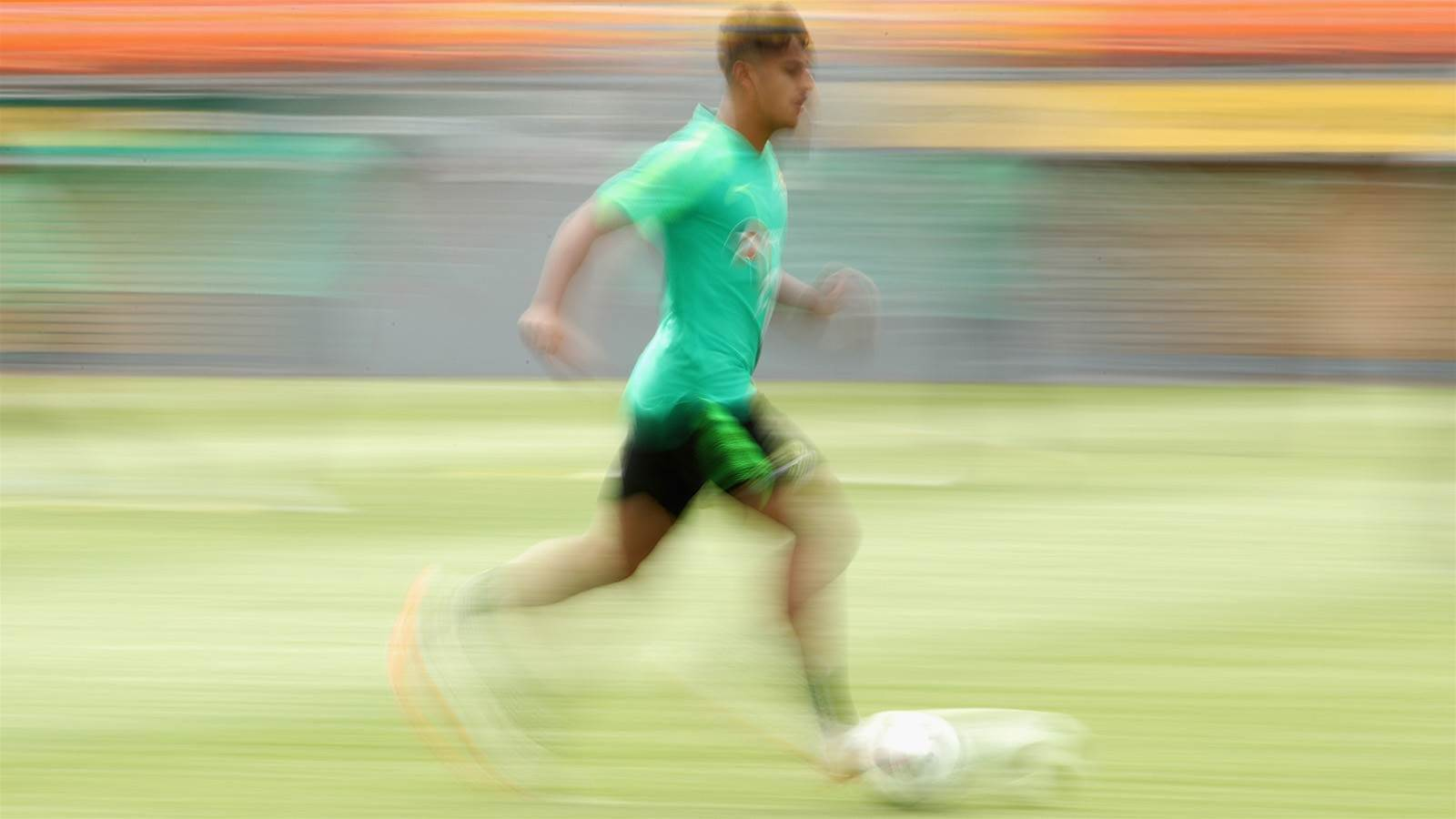 Arzani back in Manchester