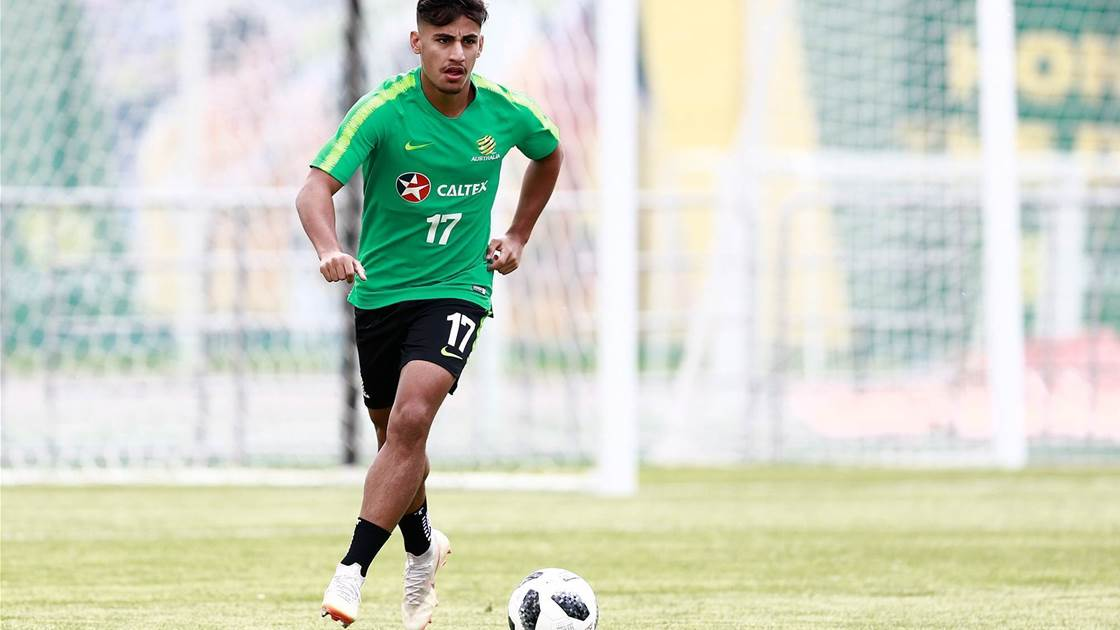 Arzani debuts in Celtic reserves
