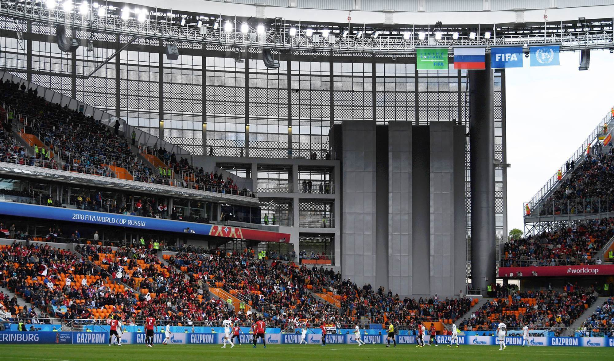 'No-shows' responsible for empty seats at World Cup - FIFA