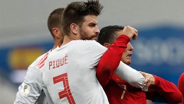 Spain not affected by Lopetegui's departure - Pique