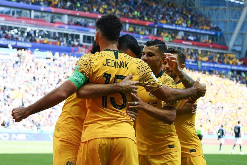 Brazil star texts praise for Socceroos