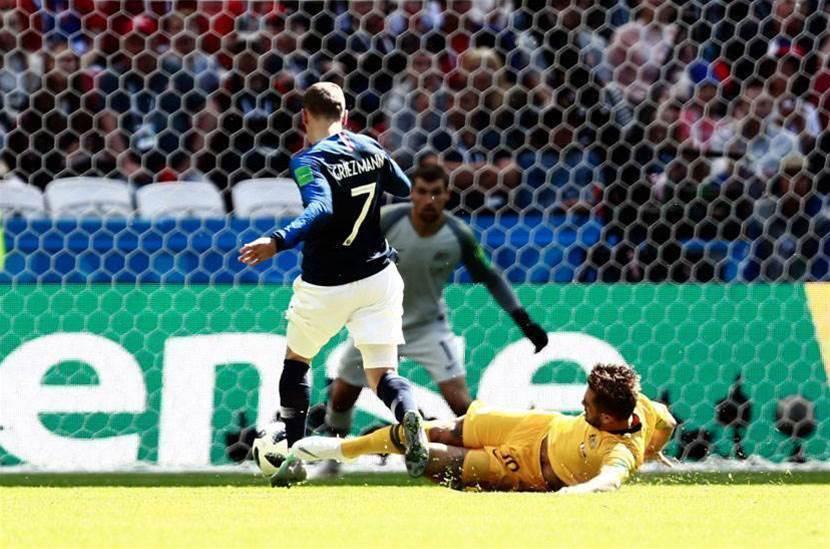 Risdon on VAR penalty: 'I got the ball'
