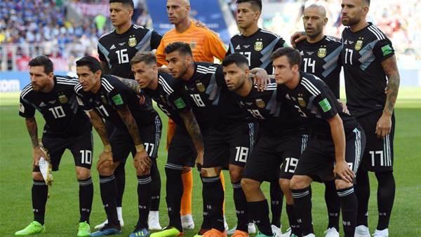 Messi, Aguero start for Argentina against Iceland
