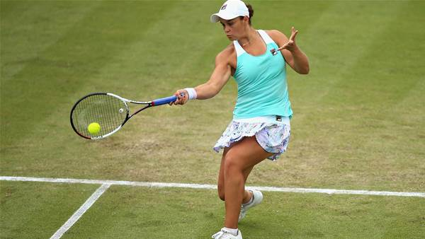 Barty through to final