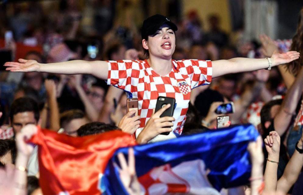 Dalic surprised by Croatia's fan turn out