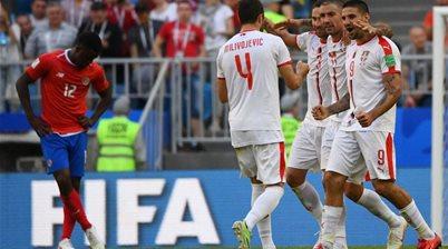 Serbia defeat Costa Rica in Group E opener