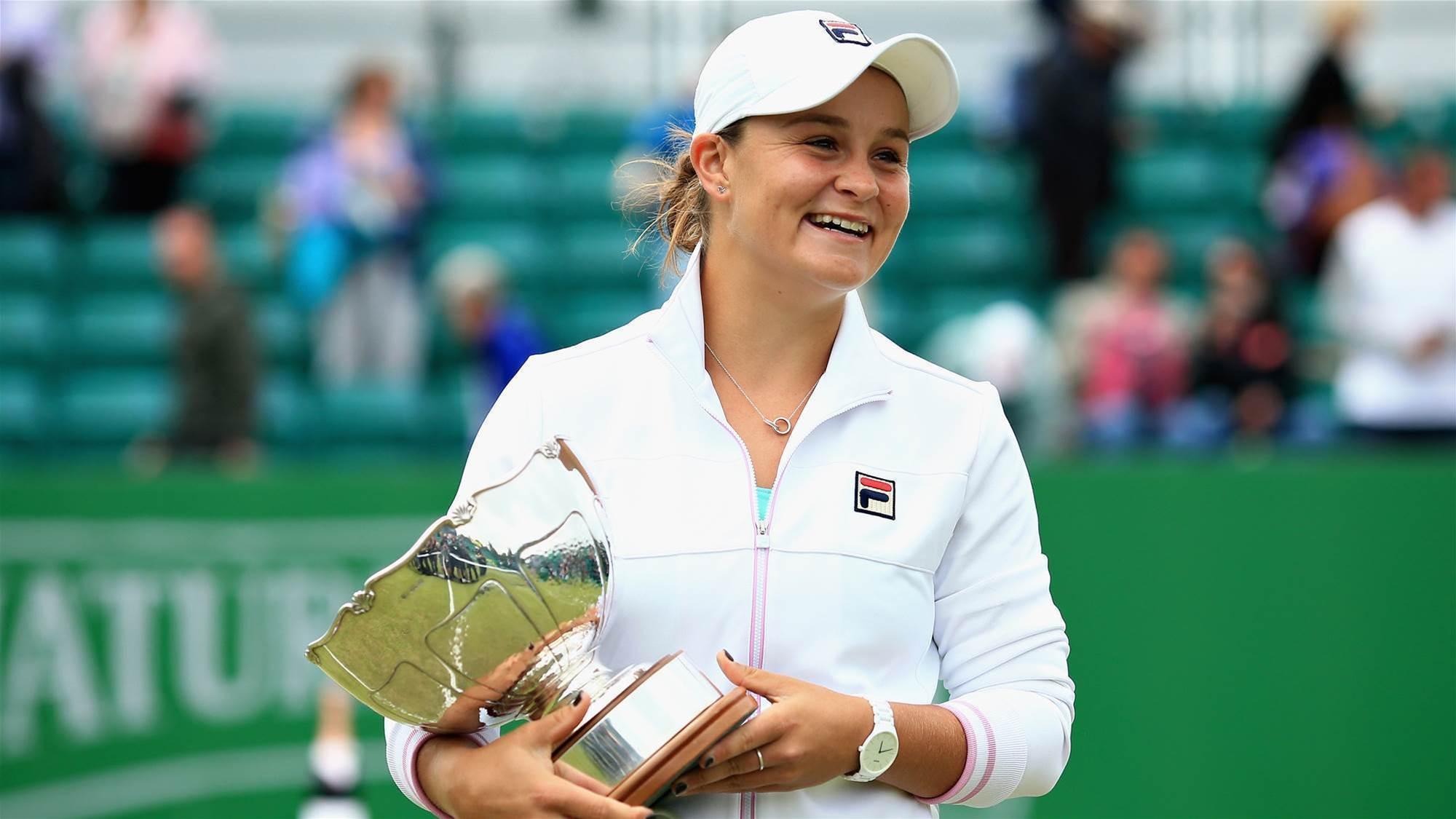Barty wins Nottingham Open