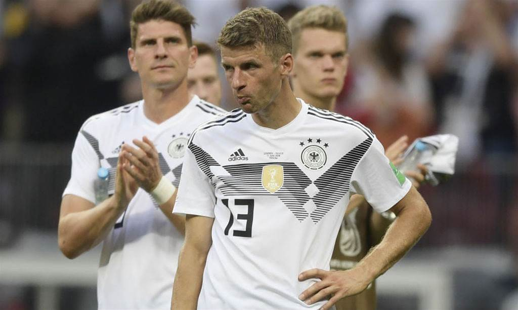 Germany must win remaining group matches - Muller