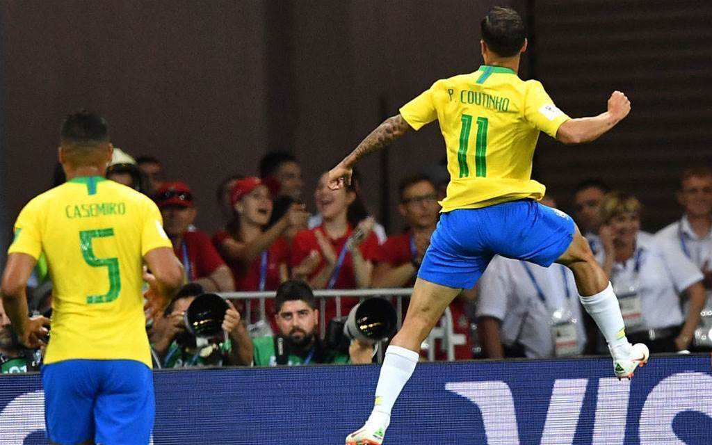Coutinho: Brazil played well against Switzerland