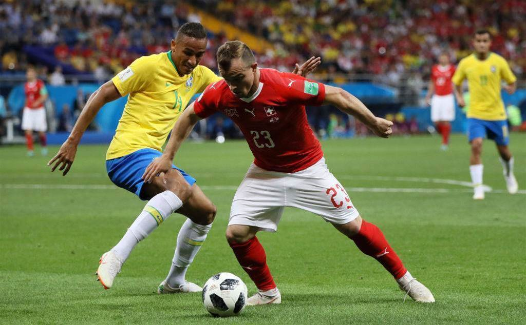 Switzerland's Shaqiri: Brazil draw 'positive result'