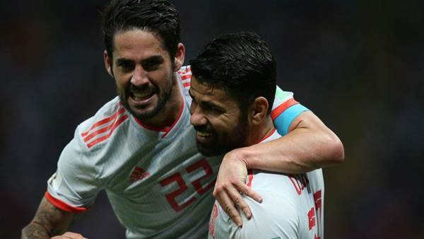 Spain on course for Round of 16 - Isco