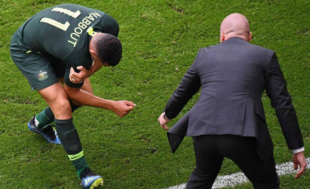Nabbout may miss remainder of World Cup due to injury