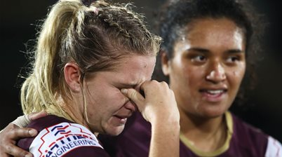 Brown: I'm so bloody proud of you
