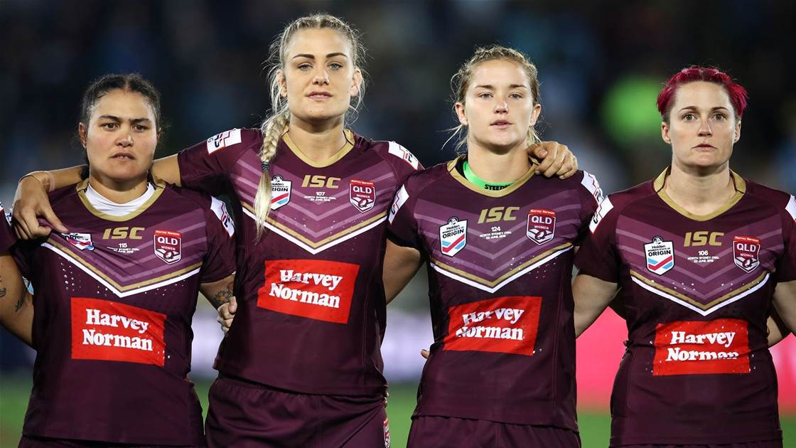 Maroons name four debutants for Origin