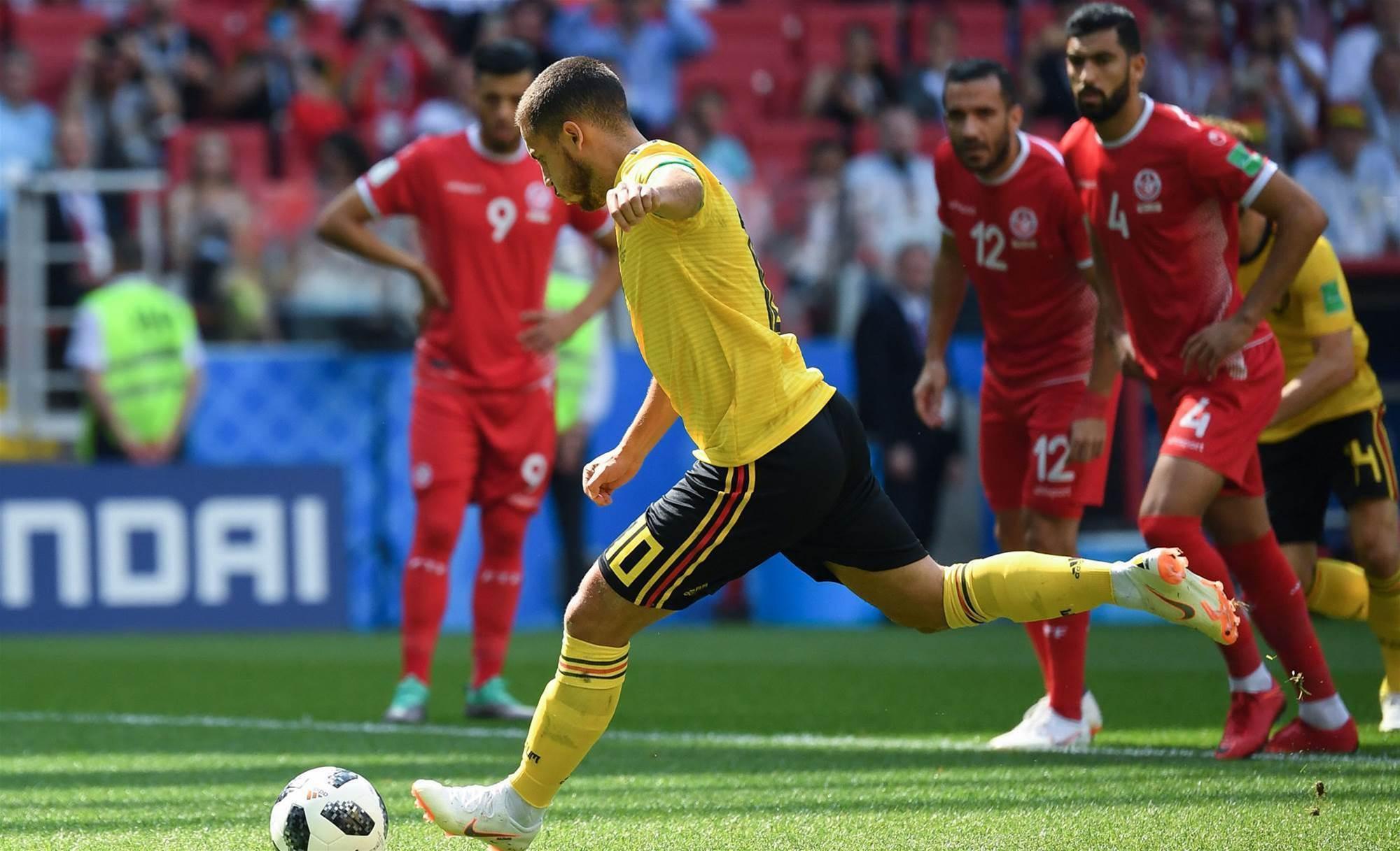 Belgium v Tunisia player ratings