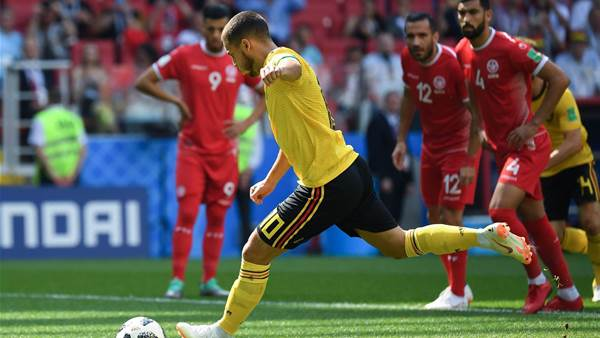 Belgium v Tunisia player ratings