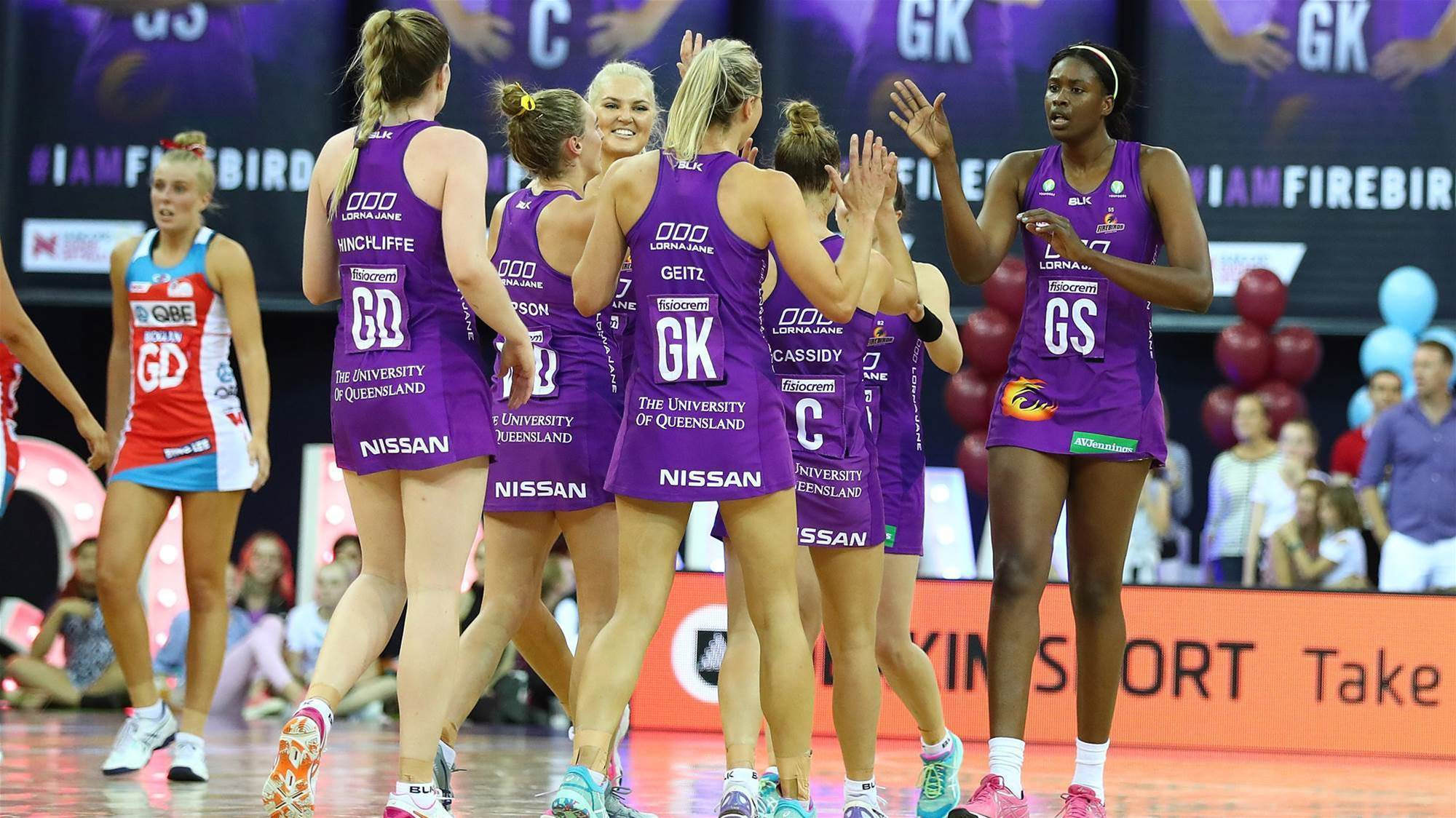 One a piece in Super Netball State of Origin