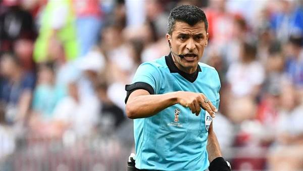 Brazilian referee named for Russia, Croatia clash
