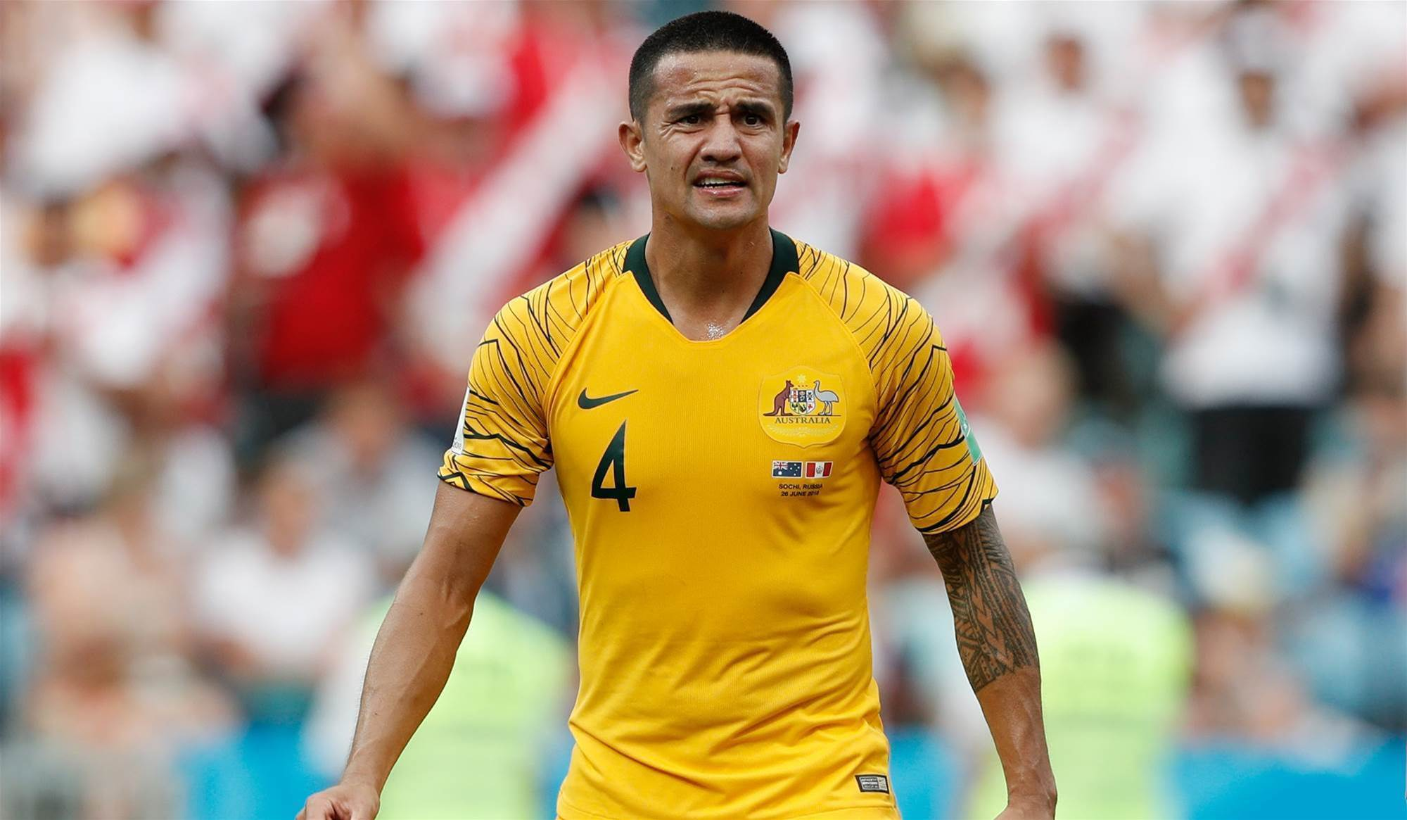 Tim Cahill wants to play on but rules out A-League return