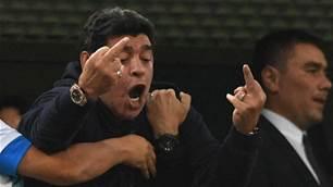 Argentina star Maradona risks becoming 'laughing stock' - Lineker