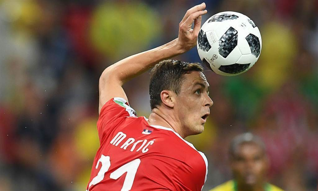 Matic: Brazil's superiority showed against Serbia