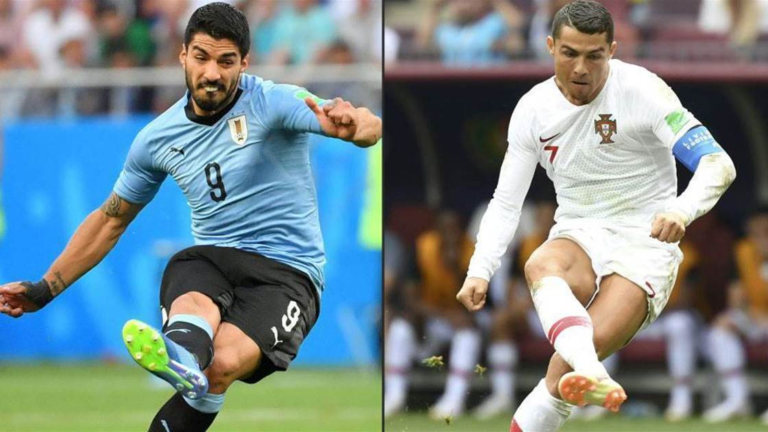Suarez says Ronaldo rivalry different when playing for Uruguay