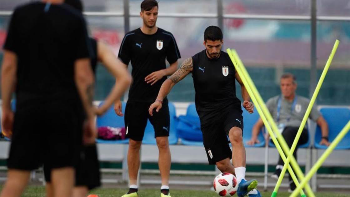 Uruguay's Suarez not worried about Sochi sizzler