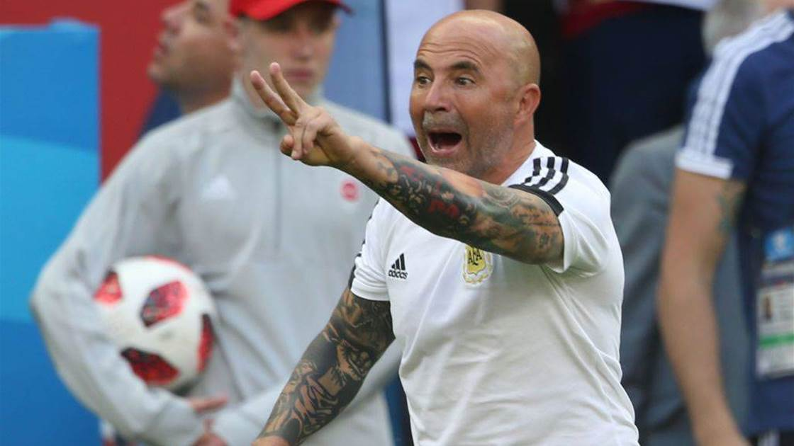 Sampaoli steps down as Argentina coach