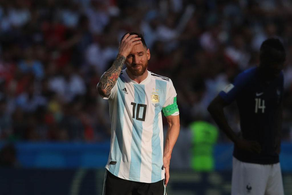 FIFA President Infantino Says Argentina Captain Messi 'Amazing' at 2018 World Cup