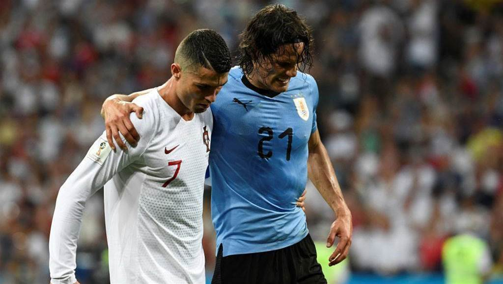 Tabarez concerned over Cavani's injury