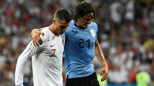 Tabarez concerned over Cavani's injury