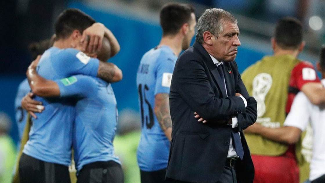 Santos congratulates Uruguay on win