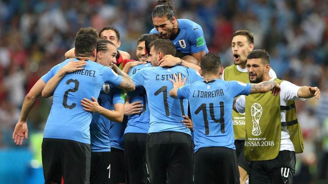 Players' dedication helped Uruguay beat Portugal