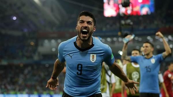 Suarez praises 'cold-blooded' Uruguay