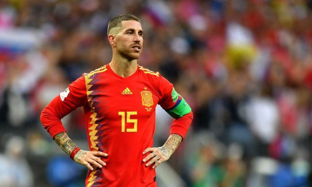 Spain captain Ramos proposes to girlfriend of six years