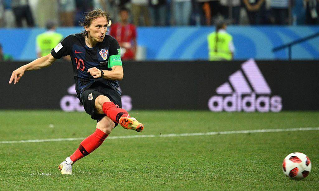 Croatia coach 'amazed' by Modric's decision to shoot second penalty