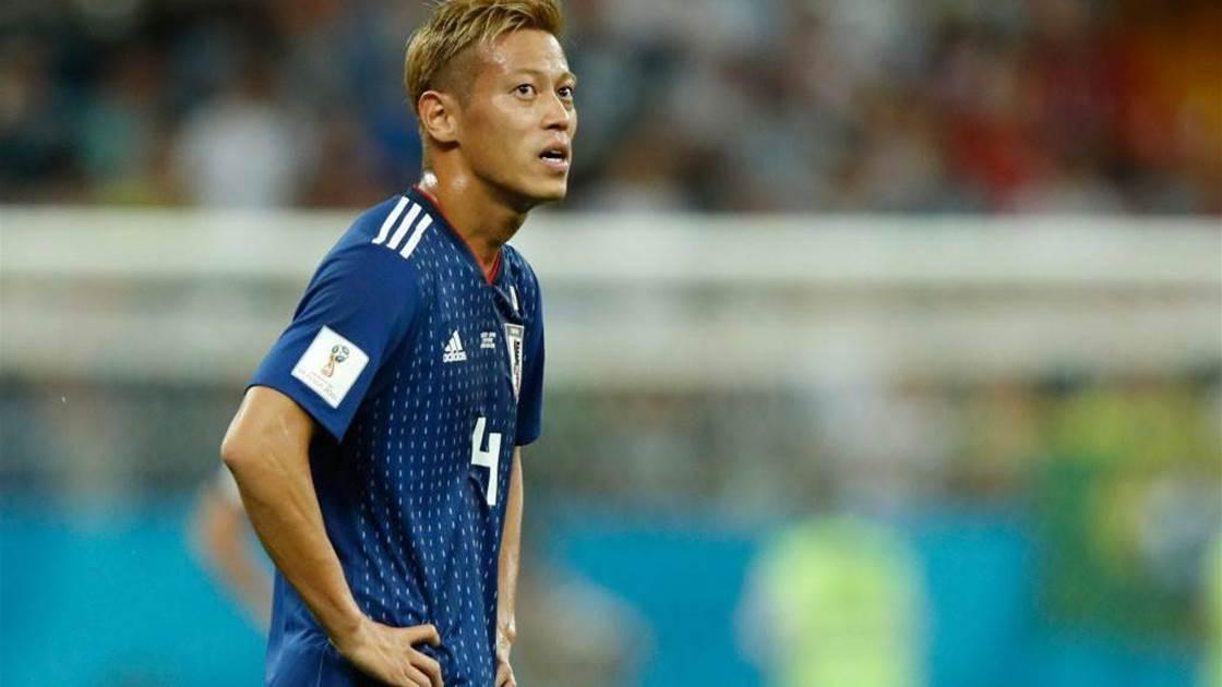 Keisuke Honda retires from international football