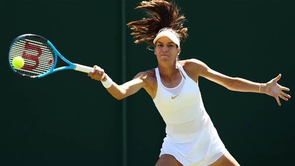 Tomljanović downed in Wimbledon first round