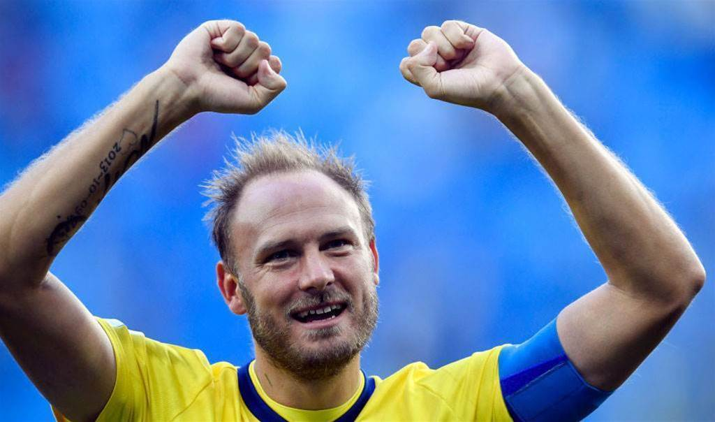 Sweden captain Granqvist 'barely slept last night' as wife gave birth to daughter