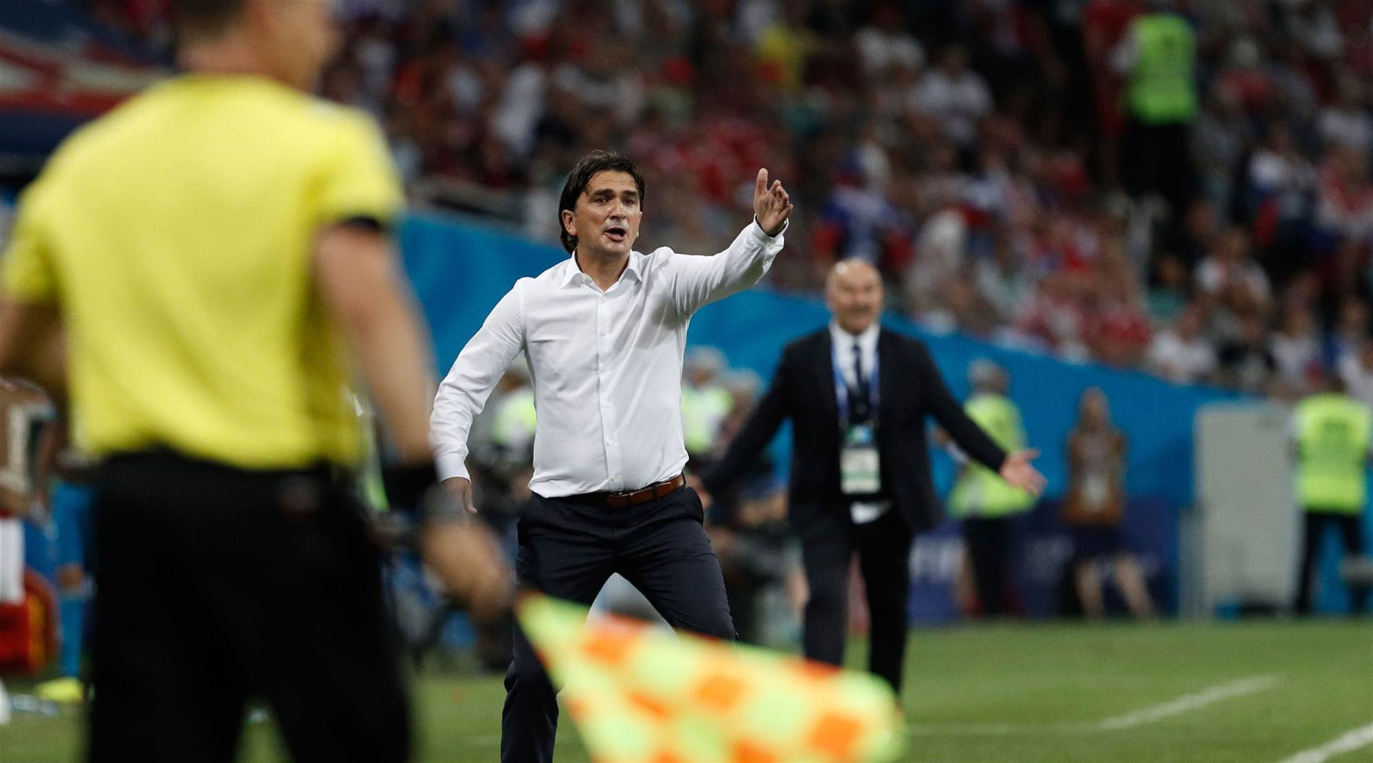 Croatia have 'some fuel left' for semi - coach