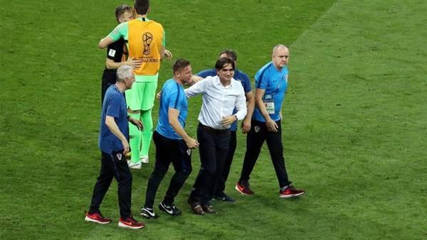Croatia Coach: 'I couldn't swallow my tears'