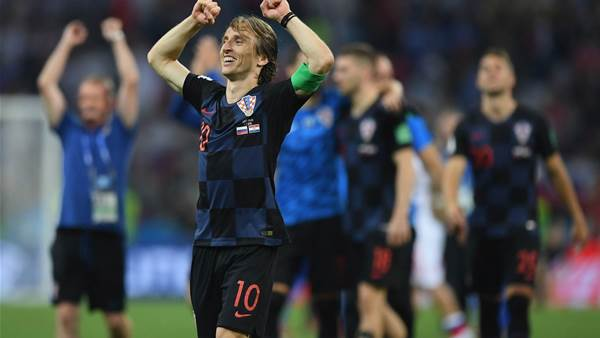 Modric: Winning World Cup more important than Ballon D'Or