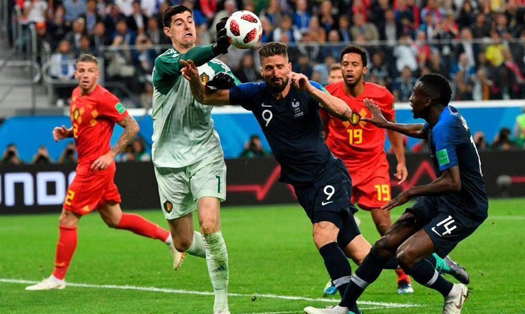 Belgium expected to play in World Cup Final - Courtois