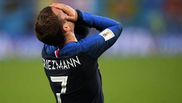 Criticism of France subsided after team beat Argentina 4-3 in Last 16 - Forward Griezmann