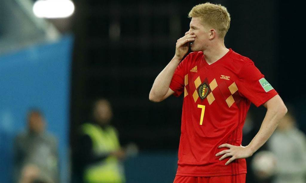 De Bruyne: 'One set piece and that's it'