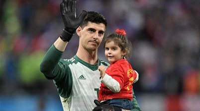 France played 'anti-football' against Belgium - Courtois