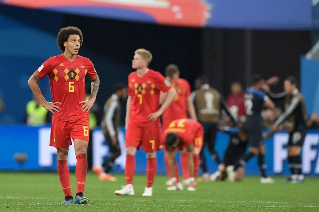 Belgium Midfielder Witsel Says Would Prefer Not to Play for Third Place in St. Petersburg