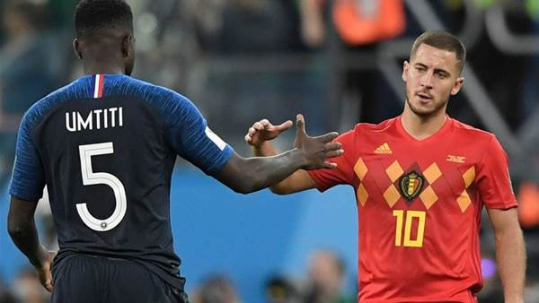 Hazard would rather lose with Belgium, than win the way France did