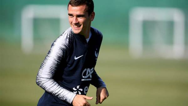 France Forward Griezmann Focused on 2018 World Cup Final, Not Ballon d'Or Award